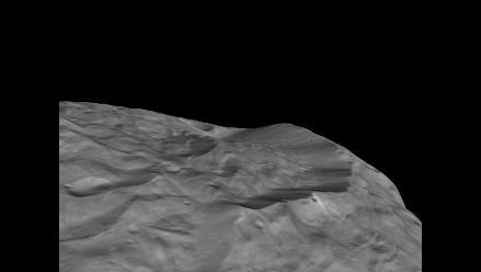 Asteroide Vesta alberga una de las mayores montañas del sistema solar