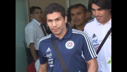 Ex futbolista Salvador Cabañas acompañó a Paraguay en su viaje a Perú