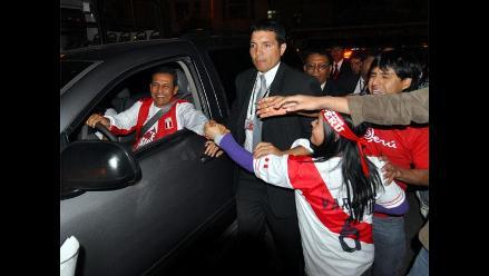 Ollanta Humala tras triunfo : ´Hay que continuar más fuerte todavía´