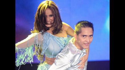 Maricielo Effio regresó a la pista de baile de ´El gran show´
