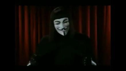 Anonymous atacó por unos minutos la página web de bolsa de Nueva York