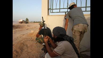 Crisis en Libia: 46 rebeldes muertos tras combates en Sirte y Bani Walid