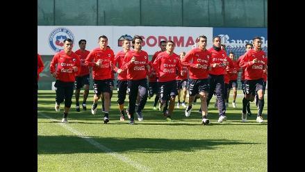 Fotos: Chile ya entrena para el partido con Perú por Clasificatorias