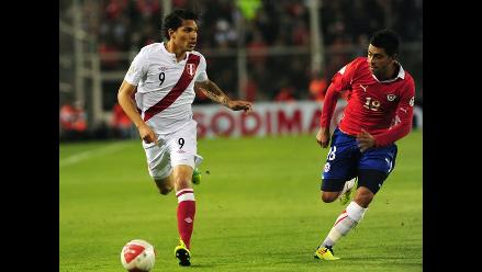 Paolo Guerrero: ´Perú mereció ganarle a Chile´