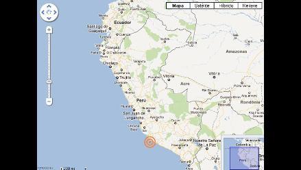 Temblor de 4.5 grados remeció Ica sin provocar daños