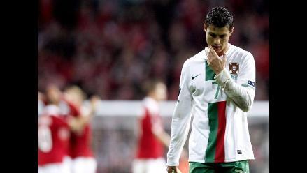 Selección portuguesa recibe fuertes críticas tras perder con Dinamarca
