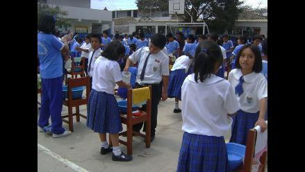 Lambayeque: Jornada simultánea de lavado de manos supera la meta