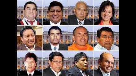 Estos son los congresistas que tienen procesos pendientes