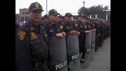 Policía Nacional garantiza seguridad para el Alianza vs. Aurich