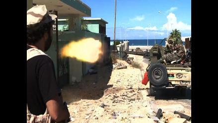 Se intensifican los bombardeos en Sirte
