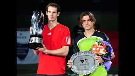 Andy Murray venció a David Ferrer en la final del Masters de Shanghái