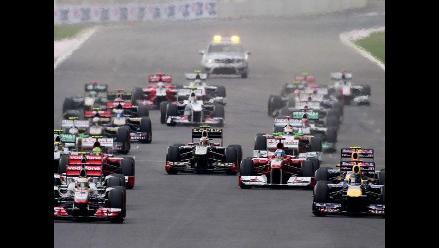 Mejores postales del triunfo de Sebastian Vettel en el GP de Corea