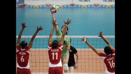 Selección de voleibol cayó 3-0 ante Estados Unidos en Guadalajara