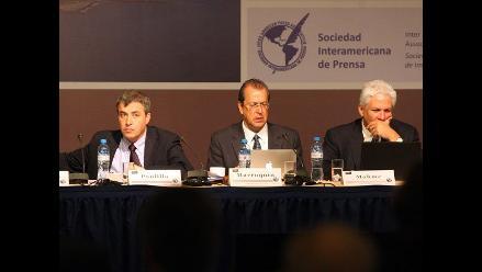 Ecuador centró atención de SIP sobre situación de libertad de prensa
