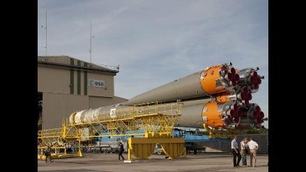 Todo listo para el lanzamiento de satélites del sistema Galileo