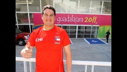 Chileno Gonzalo Moncada gana medalla de bronce en rifle de aire