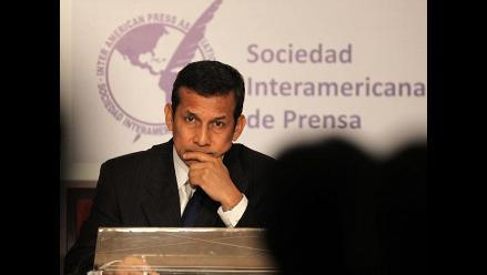 Humala: La política del Perú es del respeto a la libertad de expresión