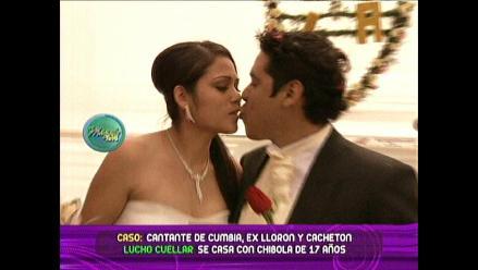 Esposa de Lucho Cuéllar defiende su matrimonio ante las cámaras