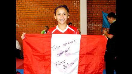 Julissa Diez Canseco: Mi objetivo principal es Londres 2012