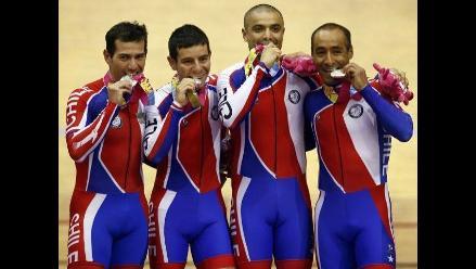 Imágenes de los festejos de los ganadores en los Juegos Panamericanos