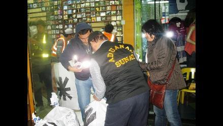 Trujillo: Decomisan 200 mil soles en piratería de discos compactos