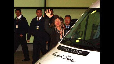 Vea el arribo de Aerosmith a Lima