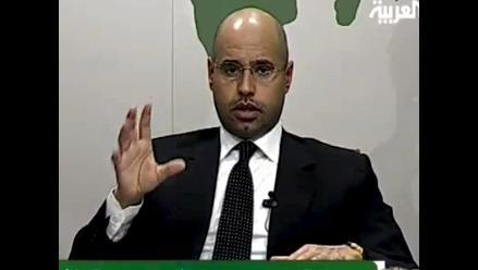 Seif El Islam, hijo mayor de Gadafi, fue capturado en Zliten