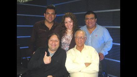 Gonzalo Torres y Sonia Morales visitan a Los Chistosos