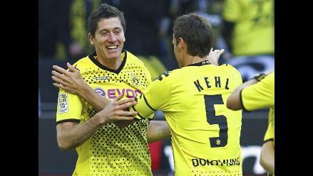 Borussia Dortmund goleó a Colonia y alcanza segundo lugar de Bundesliga