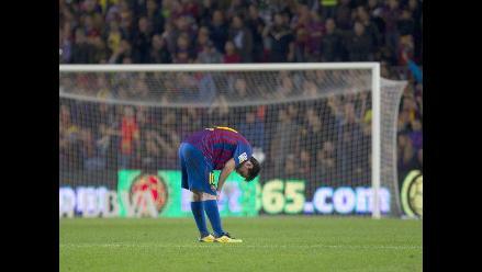 Vea el penal fallado por Messi que le costó la punta al Barcelona