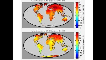 Estudio financiado por escépticos confirma calentamiento de la Tierra