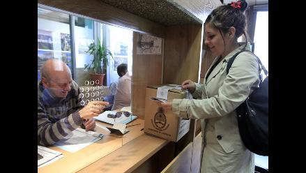 Normalidad y alta participación marcan jornada electoral en Argentina