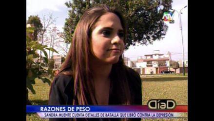 Sandra Muente confiesa haber sufrido trastornos alimenticios