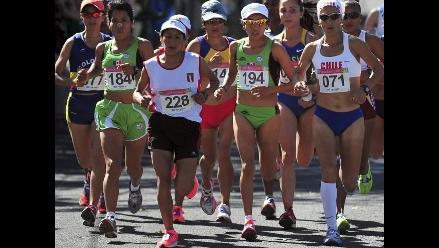 Intenso calor evitó que Gladys Tejada mejore tiempo en Panamericanos