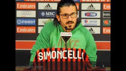 Gennaro Gattuso sufre parálisis del nervio óptico y será baja en el Milan