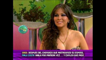 Malú Costa perdonó a su esposo Víctor Cubas