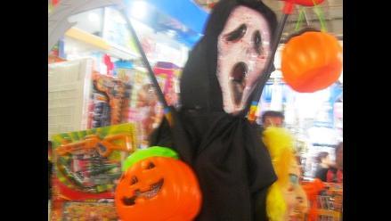 Ambiente comercial por Halloween ya se vive en Trujillo