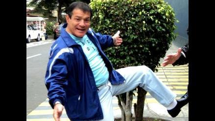 Miguelito Barraza queda internado en clínica de Chorrillos