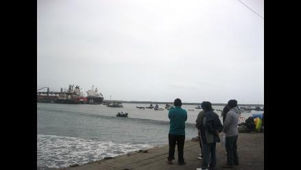 Trujillo: Reabren puerto de Salaverry tras 3 días de cierre