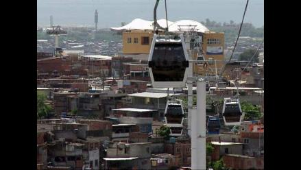Brasil: teleférico une a favela con el resto de Río de Janeiro