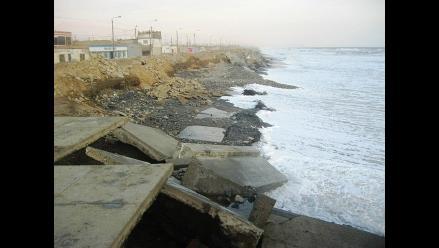 Piden a MTC acelerar solución de erosión costera en Trujillo