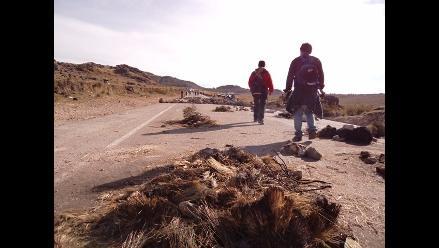 Cajamarca: Comuneros bloquean acceso a proyecto Conga en Bambamarca