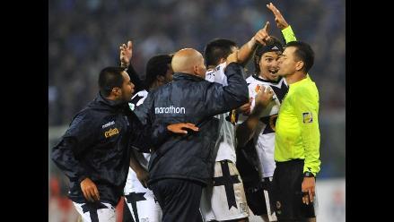 Árbitro que perjudicó a Alianza en Libertadores dirigirá el ´U´ vs. Vasco