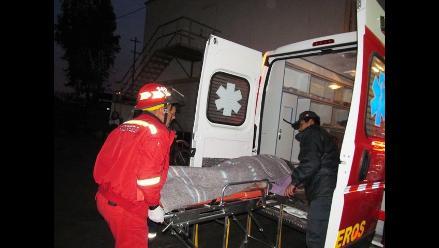 Amazonas: Vuelco de camión deja una persona herida de gravedad