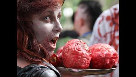 Más de un millar de zombis marcharon en Sídney