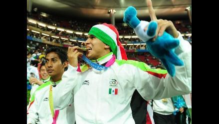 Vea los festejos mexicanos tras obtener medalla de oro en fútbol