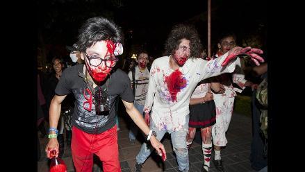 Zombies protestan contra la deshumanización en La Paz