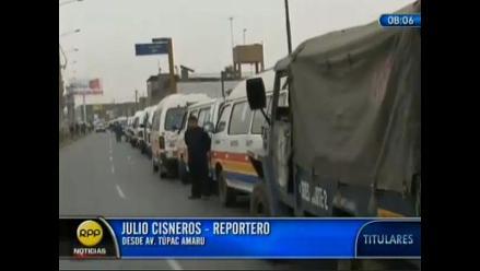 Informales del Callao son los más afectados por reordenamiento, afirman