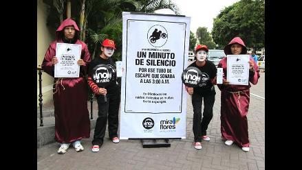 Municipio de Miraflores impulsa campaña contra contaminación sonora