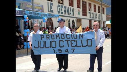 San Martín: Primer colegio de la amazonía peruana está de aniversario